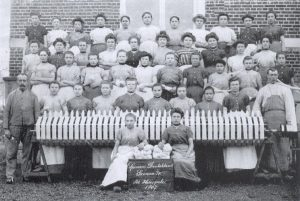 textielvrouwen Gronau 1907
