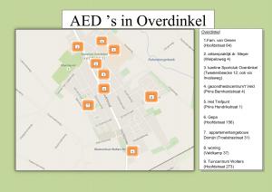 aed's in Overdinkel